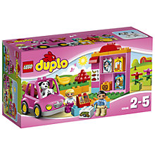 Buy LEGO Duplo My First Shop Online at johnlewis.com