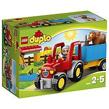 Buy LEGO DUPLO 10524 Farm Tractor Online at johnlewis.com