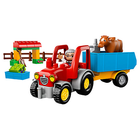 Buy LEGO DUPLO Farm Tractor Online at johnlewis.com