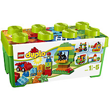 Buy LEGO DUPLO Box of Fun Bundle with Free Duplo Snail Online at johnlewis.com