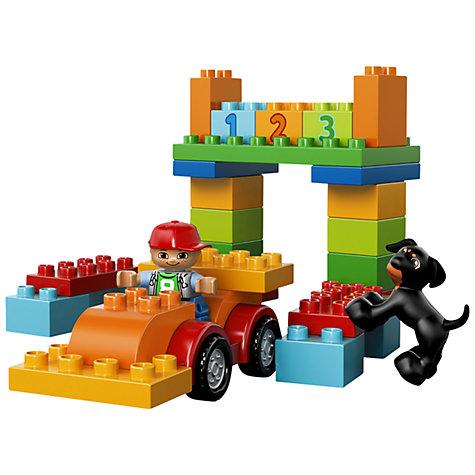 buy lego duplo 10572 box of fun john lewis. Black Bedroom Furniture Sets. Home Design Ideas
