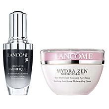 Buy Lancôme Advanced Génefique, 30ml and Hydra Zen Neurocalm Normal Skin, 50ml Online at johnlewis.com
