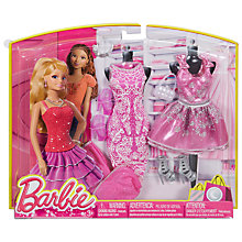 Buy Barbie Night Fashion Outfit, Assorted Online at johnlewis.com