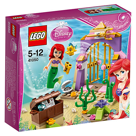 Buy LEGO Disney Princess Ariel's Amazing Treasure Online at johnlewis.com