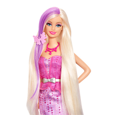 Buy Barbie Colour Me Glam Doll Online at johnlewis.com