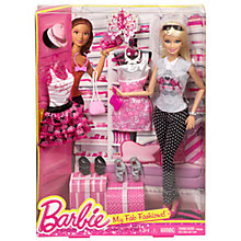 Buy Barbie My Fab Fashions Doll Online at johnlewis.com