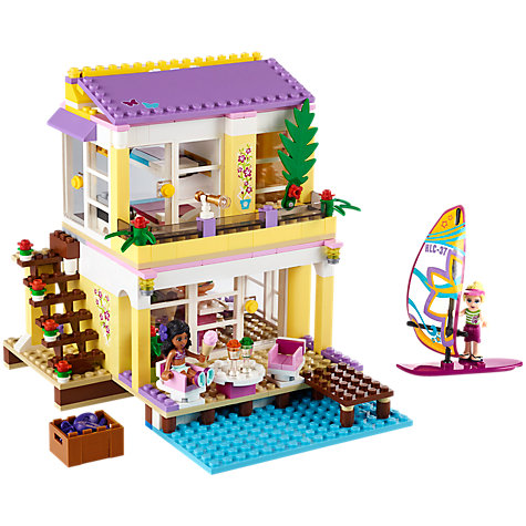 Buy LEGO Friends Stephanie's Beach House Online at johnlewis.com