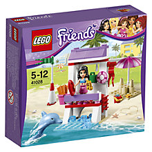Buy LEGO Friends Emma's Lifeguard Post Online at johnlewis.com