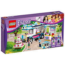 Buy LEGO Friends Heartlake News Van Online at johnlewis.com
