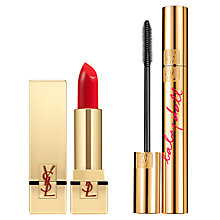 Buy Yves Saint Laurent Baby Doll Mascara and Le Rouge Pur Couture, N°1 Le Rouge Online at johnlewis.com