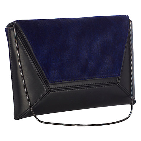 Buy Coast Peony Clutch, Indigo Online at johnlewis.com