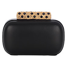 Buy Coast Naomi Leather Box Clutch Handbag Online at johnlewis.com