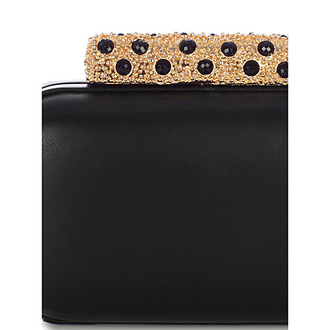 Buy Coast Naomi Leather Box Clutch Bag Online at johnlewis.com