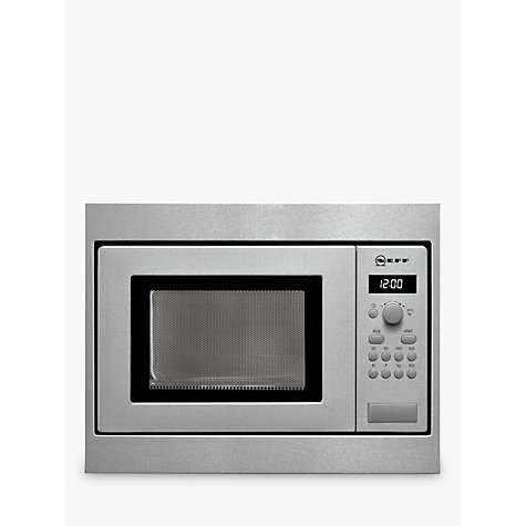Buy Neff H53w50n3gb 50cm Built In Microwave Stainless