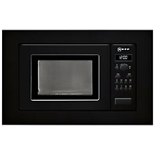 Buy Neff H53W603GB Built-In Microwave Online at johnlewis.com