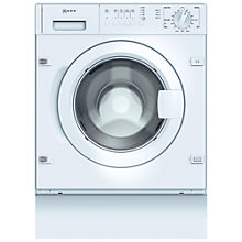Buy Neff W5420X0GB Integrated Washing Machine 7kg Load, A+ Energy Rating, 1200rpm Spin Online at johnlewis.com