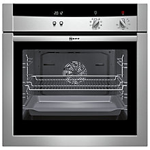 Buy Neff B15M52N3GB Single Electric Oven, Stainless Steel Online at johnlewis.com