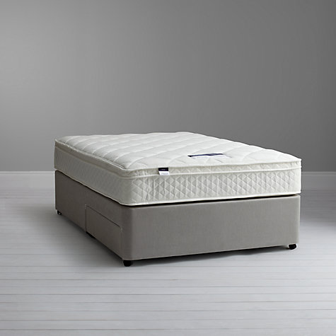 Buy Silentnight Miracoil Memory Mattress and Divan Set, Kingsize Online at johnlewis.com