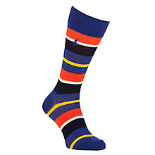 Buy Polo Ralph Lauren Stripe Socks, One Size Online at johnlewis.com