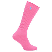 Buy Polo Ralph Lauren Classic Crew Socks, One Size Online at johnlewis.com