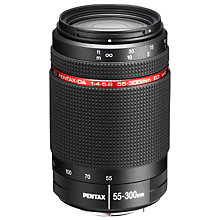 Buy Pentax 55-300mm f/4-5.8 ED WR Telephoto Lens Online at johnlewis.com