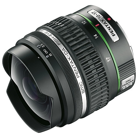 Buy Pentax SMC 10-17mm f/3.5-4.5 ED (IF) DA Fisheye Lens Online at johnlewis.com