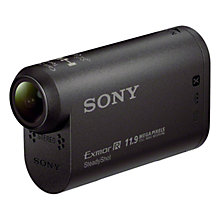 Buy Sony HDR-AS30V Action Cam Camcorder, HD 1080p, 16MP, Wi-Fi, NFC, GPS with Waterproof Case and Handsfree Kit Online at johnlewis.com