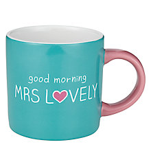 Buy Wild & Wolf Happy Jackson Good Morning Mug Online at johnlewis.com