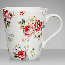 Buy Cath Kidston Stanley Field Roses Mug Online at johnlewis.com