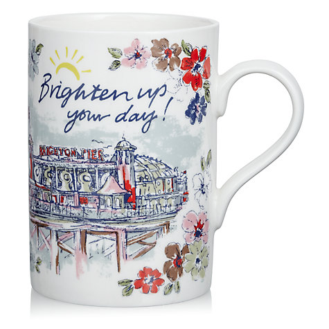 Buy Cath Kidston Brighten Up Your Day Mug Online at johnlewis.com