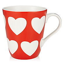 Buy Cath Kiston Love Heart Stanley Mug Online at johnlewis.com
