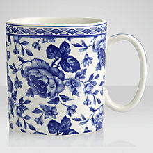 Buy Spode Blue Room Chintz Bouquet Mug Online at johnlewis.com