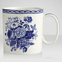 Buy Spode Blue Room Rose Mug Online at johnlewis.com