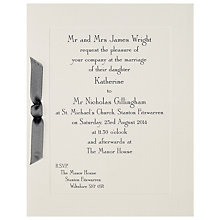 Buy The Letter Press Imperial Invitations, Pack of 60 Online at johnlewis.com