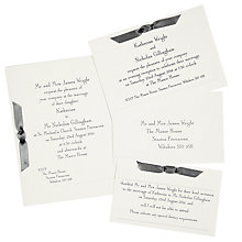 Buy The Letter Press Imperial Wedding Invitation Collection Online at johnlewis.com