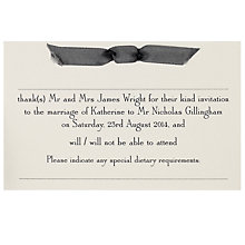 Buy The Letter Press Imperial RSVP Reply Card, Pack of 60 Online at johnlewis.com