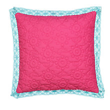 Buy little home at John Lewis Kaleidescope Cushion, Pink Online at johnlewis.com