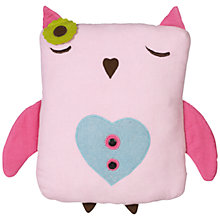 Buy little home at John Lewis Kaleidoscope Owl Cushion Online at johnlewis.com