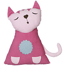 Buy little home at John Lewis Abbey Cat Cushion Online at johnlewis.com