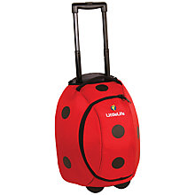 Buy LittleLife Ladybird Wheelie Bag, Red/Black Online at johnlewis.com
