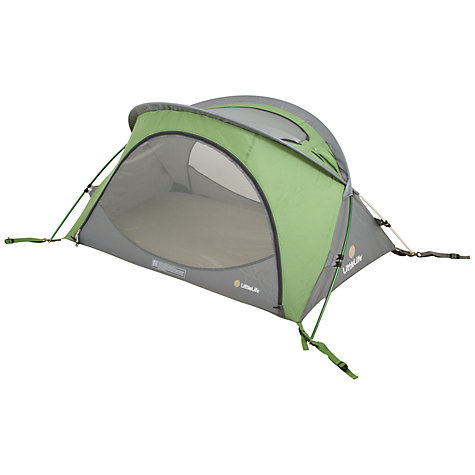 Buy LittleLife Arc 2 Travel Cot, Green Online at johnlewis.com