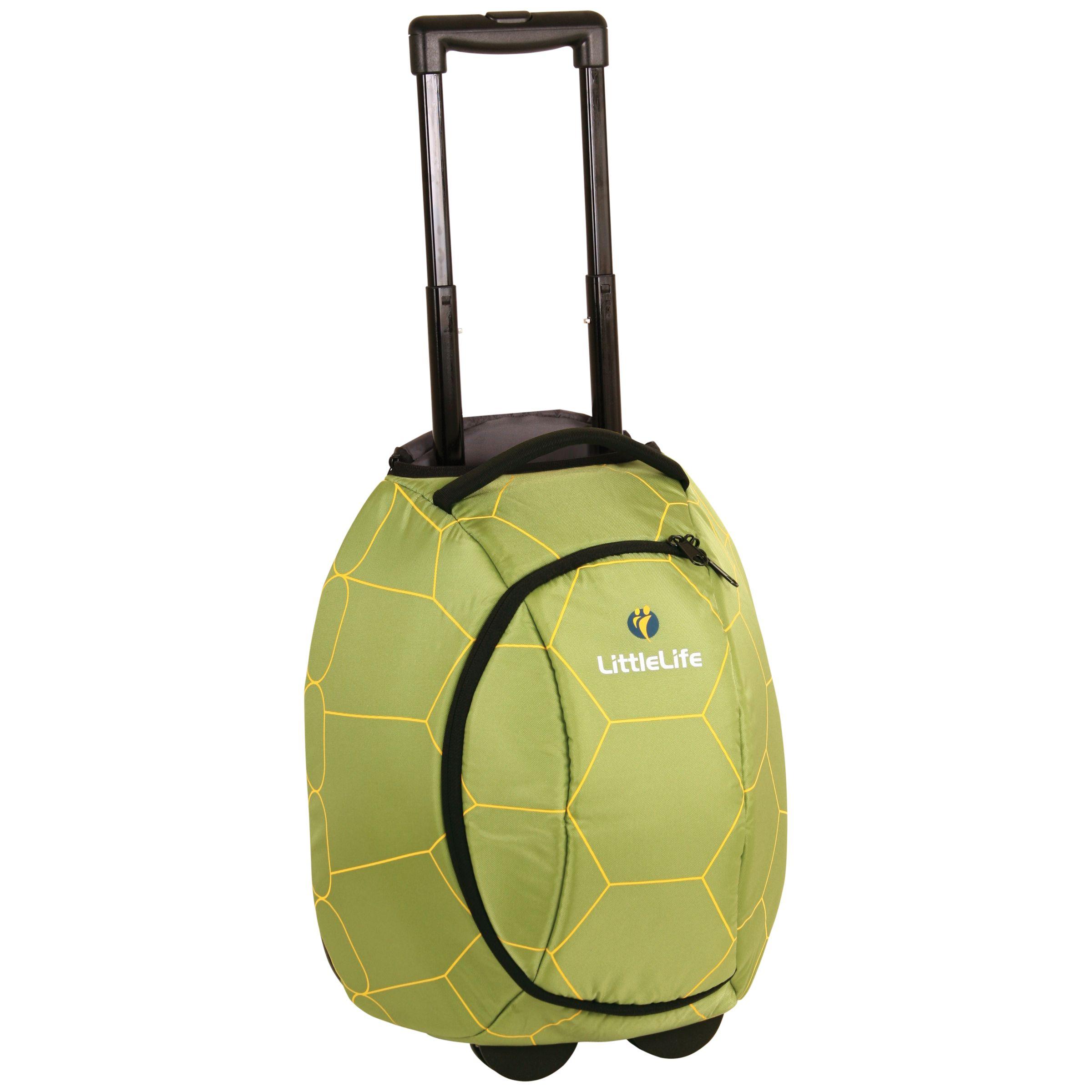 Littlelife LittleLife Turtle Wheelie Bag, Green