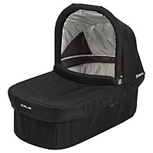 Buy Uppababy Cruz Carrycot V2, Jake Black Online at johnlewis.com