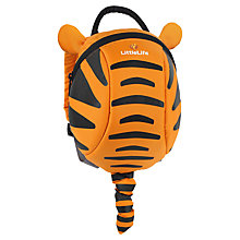 Buy LittleLife Tigger Toddler Backpack, Orange/Black Online at johnlewis.com
