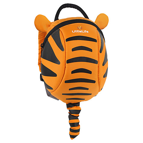 Buy LittleLife Tigger Toddler Day Sack, Orange/Black Online at johnlewis.com