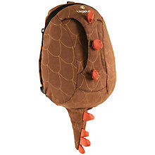 Buy LittleLife Dinosaur Active Grip Toddler Ruck Sack, Brown Online at johnlewis.com