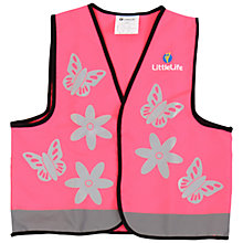 Buy LittleLife Butterfly Reflective Vest Online at johnlewis.com