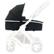 Buy BabyStyle Oyster Carrycot, Black Online at johnlewis.com