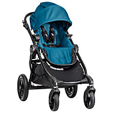 Buy Baby Jogger City Select Pushchair, Teal Online at johnlewis.com