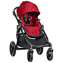 Buy Baby Jogger 2014 City Select Pushchair, Red Online at johnlewis.com